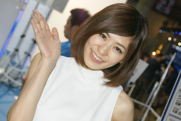 東京ゲームショウ2014 コンパニオン