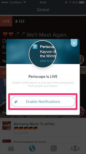 periscope twitter アプリ 使い方